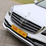 2018 Mercedes-Benz S-Class review test drive nose section