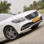 2018 Mercedes-Benz S-Class review test drive nose