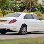 2018 Mercedes-Benz S-Class review test drive rear angle