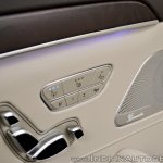 2018 Mercedes-Benz S-Class review test drive rear seat controls