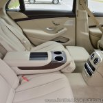 2018 Mercedes-Benz S-Class review test drive rear seat side