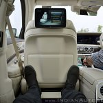 2018 Mercedes-Benz S-Class review test drive rear seat view