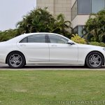 2018 Mercedes-Benz S-Class review test drive side