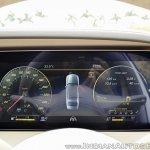 2018 Mercedes-Benz S-Class review test drive speedo