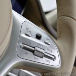 2018 Mercedes-Benz S-Class review test drive steering controls