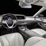 2018 Mercedes-Maybach Pullman (facelift) interior