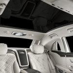 2018 Mercedes-Maybach Pullman (facelift) panoramic roof