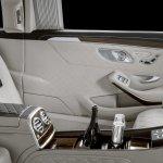 2018 Mercedes-Maybach Pullman (facelift) rear centre console
