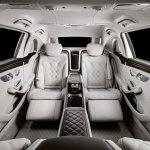 2018 Mercedes-Maybach Pullman (facelift) rear seats