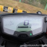 2018 TVS Apache RTR 160 4V First ride review FI instrument cluster