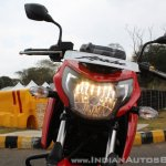 2018 TVS Apache RTR 160 4V First ride review headlight