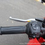 2018 TVS Apache RTR 160 4V First ride review left switchgear