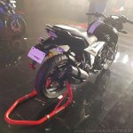 2018 TVS Apache RTR 160 4V India launch Black rear right quarter