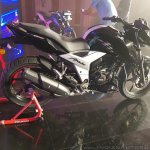 2018 TVS Apache RTR 160 4V India launch Black right side