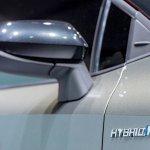 2018 Toyota Auris Hybrid Hybrid fender badge at the 2018 Geneva Motor Show