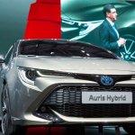 2018 Toyota Auris Hybrid at the 2018 Geneva Motor Show