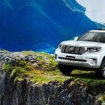 2018 Toyota Land Cruiser Prado (facelift) front three quarters left side