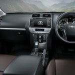 2018 Toyota Land Cruiser Prado (facelift) interior dashboard