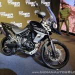 2018 Triumph Tiger 800 XCx India launch front left quarter