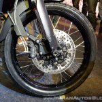 2018 Triumph Tiger 800 XCx India launch front wheel