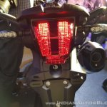 2018 Triumph Tiger 800 XCx India launch tail light