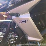 2018 Triumph Tiger 800 XCx India launch tank extension logo