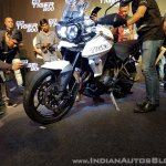 2018 Triumph Tiger 800 XRX India launch front left quarter