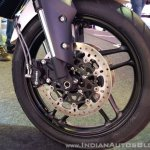 2018 Triumph Tiger 800 XRX India launch front wheel