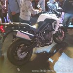 2018 Triumph Tiger 800 XRX India launch rear right quarter
