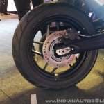 2018 Triumph Tiger 800 XRX India launch rear wheel