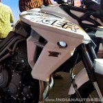 2018 Triumph Tiger 800 XRX India launch tank shroud