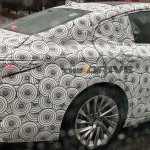2019 Lexus ES rear details spy shot
