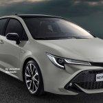 2019 Toyota Corolla Altis (2019 Toyota Corolla Sedan) rendering