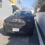Alleged Kia SP prototype front spy shot