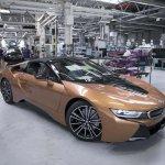 BMW i8 Roadster Leipzig plant