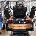 BMW i8 Roadster production line