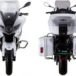 Benelli BJ300GS-A press front and rear