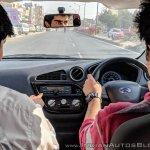 Datsun redi-GO Smart Drive Auto driving shot