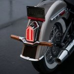 Harley-Davidson Deluxe press tail light