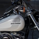 Harley-Davidson Low Rider press fuel tank