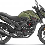 Honda X Blade Matte Marshal Green Metallic