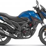 Honda X Blade Matte Marvel Blue Metallic