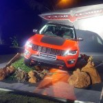 Jeep Compass Trailhawk front India