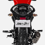Mahindra Mojo UT300 Red press rear