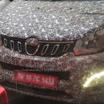 Mahindra U321 MPV spy shot nose