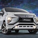 Philippines-spec Mitsubishi Xpander front three quarters