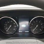 Range Rover Evoque convertible instrument console