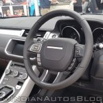 Range Rover Evoque convertible steerging wheel