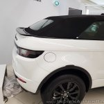 Range Rover Evoque convertible tail