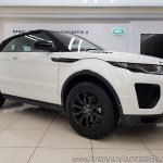 Range Rover Evoque convertible top up